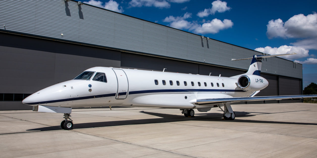Luxaviation UK adds fifth Legacy to fleet