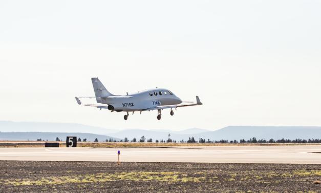FIRST FLIGHT OF STRATOS 716X