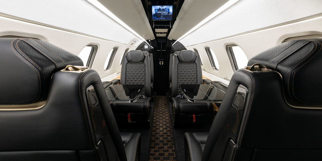 Embraer delivers first Phenom 300E with Bossa Nova interior