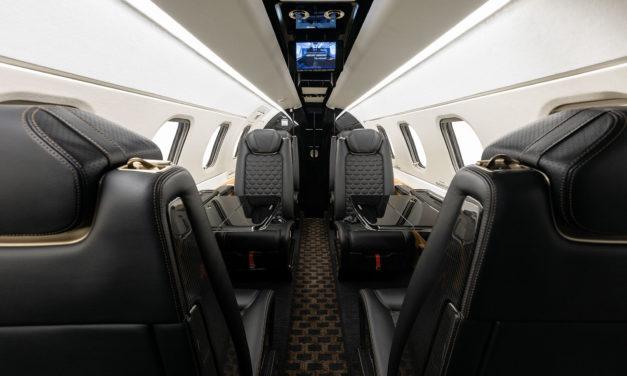 Embraer delivers first Phenom 300E with Bossa Nova interior