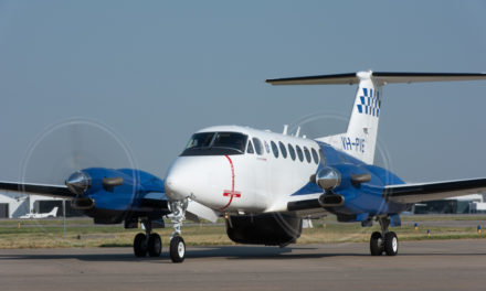 Textron Aviation  delivers airborne law enforcement  King Air 350ER  to Victoria Police