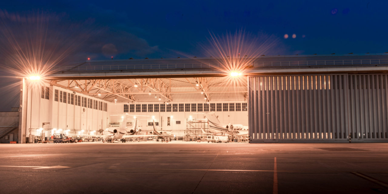 Jet Aviation Geneva delivers 240-month check on a Global Express