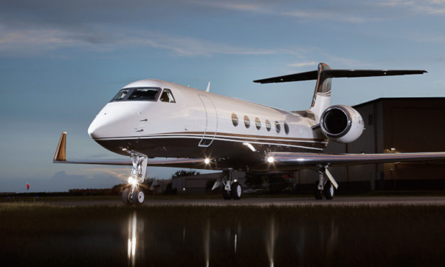 Planet Nine Private Air  adds third managed Gulfstream GV to charter fleet