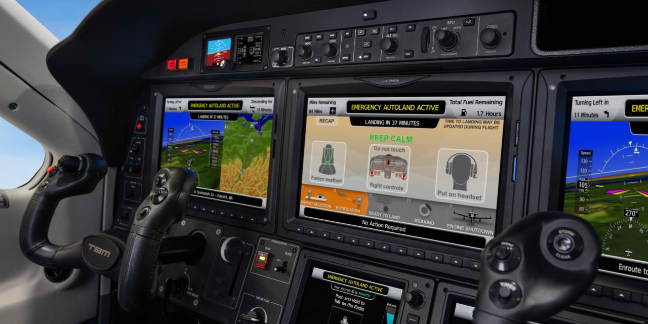 GARMIN AUTOLAND ACHIEVES EASA AND FAA CERTIFICATION ON DAHER TBM 940