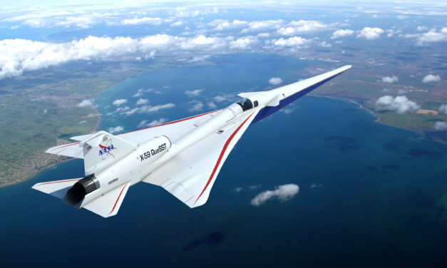 NASA Takes Delivery of GE Jet Engine for X-59