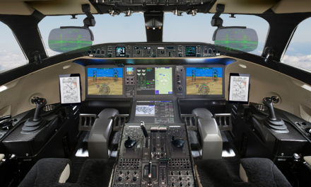 Bombardier Delivers First Global 7500 Equipped with Dual HUD