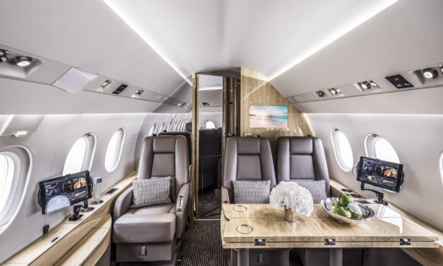 Falcon 2000LX available for charter