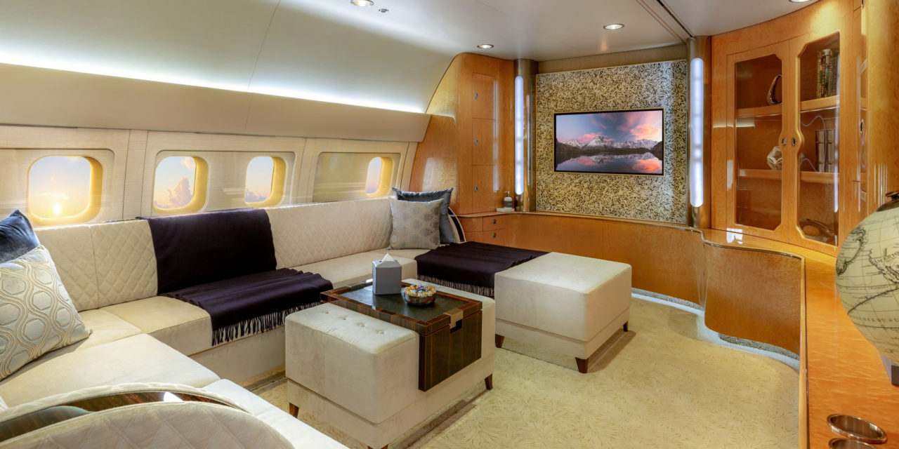 COMLUX SKYLADY REDEFINES WIDE-BODY LONG-RANGE VIP TRAVEL