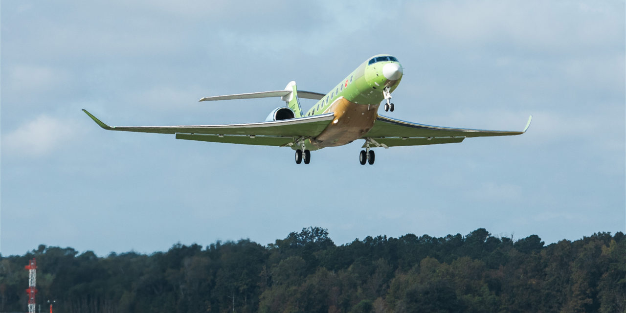 GULFSTREAM INTRODUCES ANOTHER G700 TEST AIRCRAFT