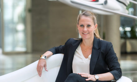 Anne Devilliers, Dassault Aviation's Falcon Sales Director