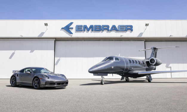 "Embraer and Porsche Announce Design Collaboration to Deliver Limited Edition ""Duet"""