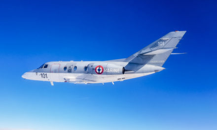 Falcon 10 Mer: 45 years in service in the French Navy