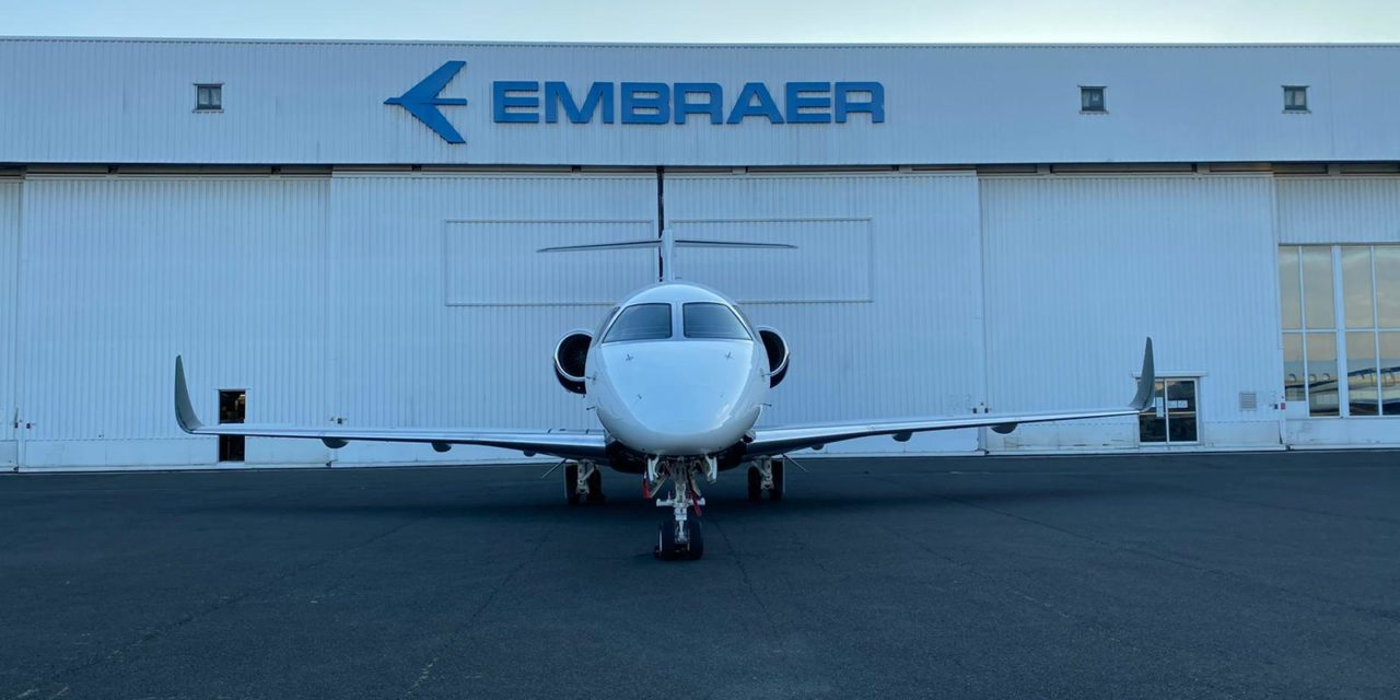 Embraer completes first Praetor 500 conversion in Europe
