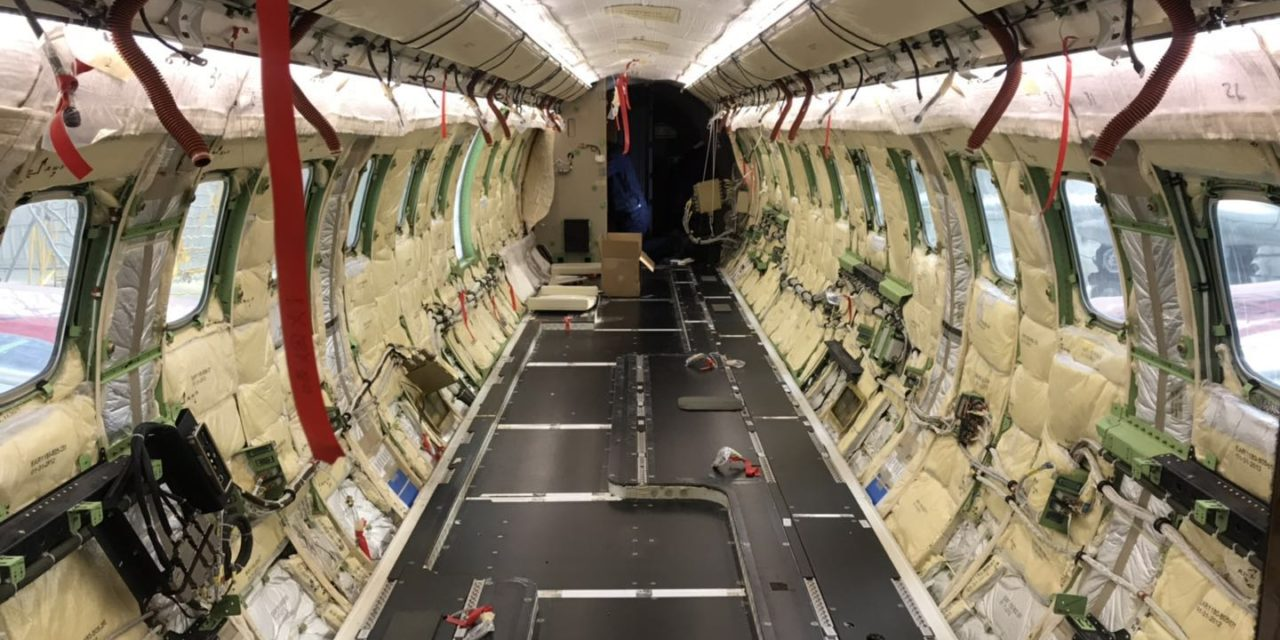 ExecuJet Haite Completes the first 96-month Inspection of a Legacy 650 in China