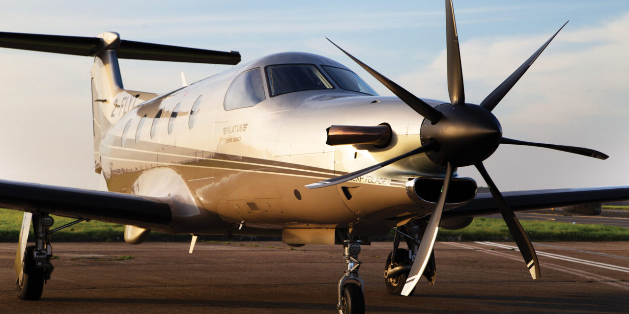 PC12 Upgrade: The world's first fully certified MT47 Seven blade propeller is installed on a PC12 aircraft.