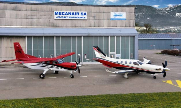 Daher expands its global support network with MecanAir's designation as a dual Kodiak and TBM aircraft service center in Switzerland