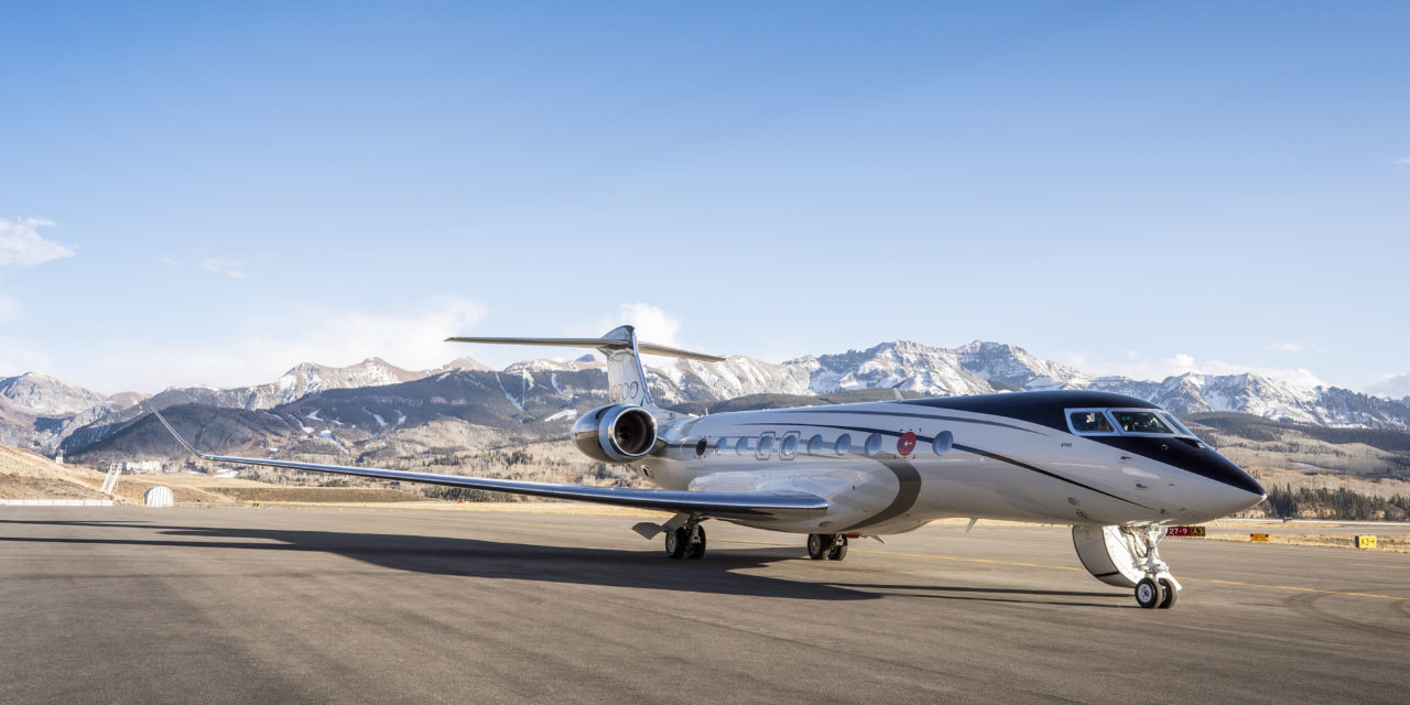 GULFSTREAM G700 SURPASSES 1,100 FLIGHT HOURS