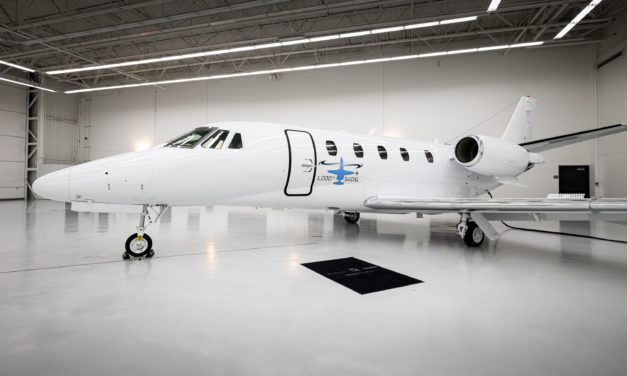 Textron Aviation celebrates 1,000 deliveries of the best-selling Cessna Citation 560XL series
