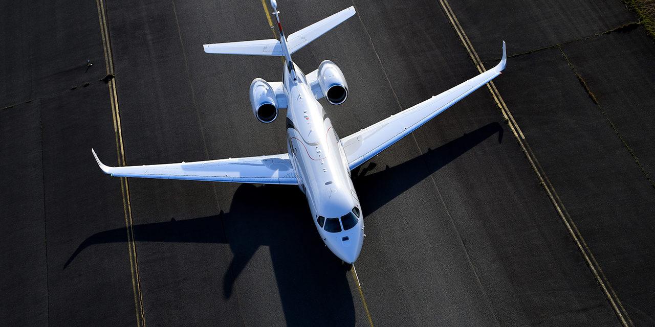 Falcon 6X Completes Maiden Flight