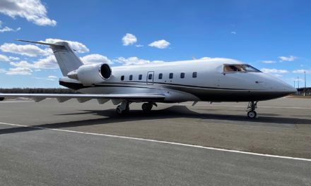 Flying Colours Corp. installing its first Ka-band system on a Bombardier Challenger 604