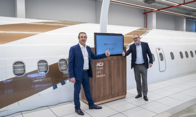 ACJ teams up with Latécoère for a unique and smart  IFE solution