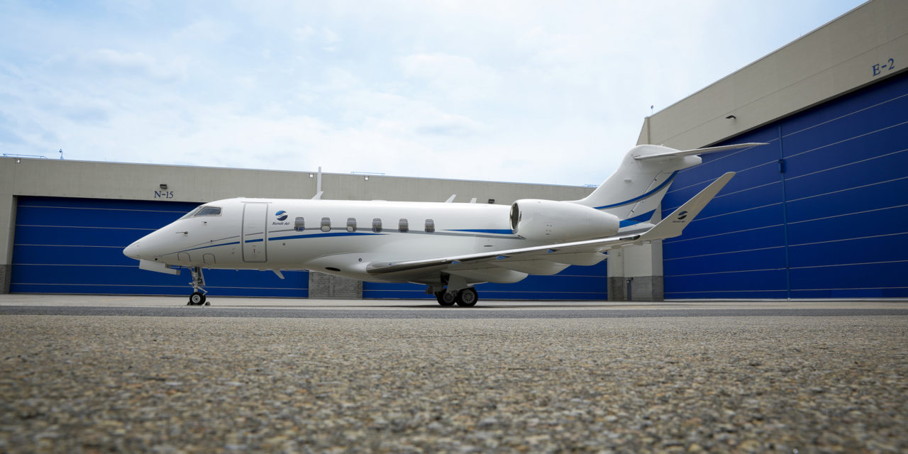 Sundt Air Proudly Adds Third Bombardier Challenger Business Jet to its Fleet