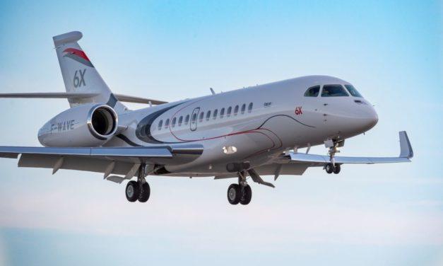Third Falcon 6X Joins Test Program