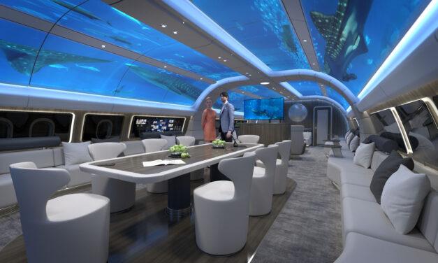 Lufthansa Technik previews new World Traveller luxury design for long-haul aircraft
