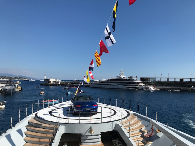 Indian summer at the Monaco Yacht Show