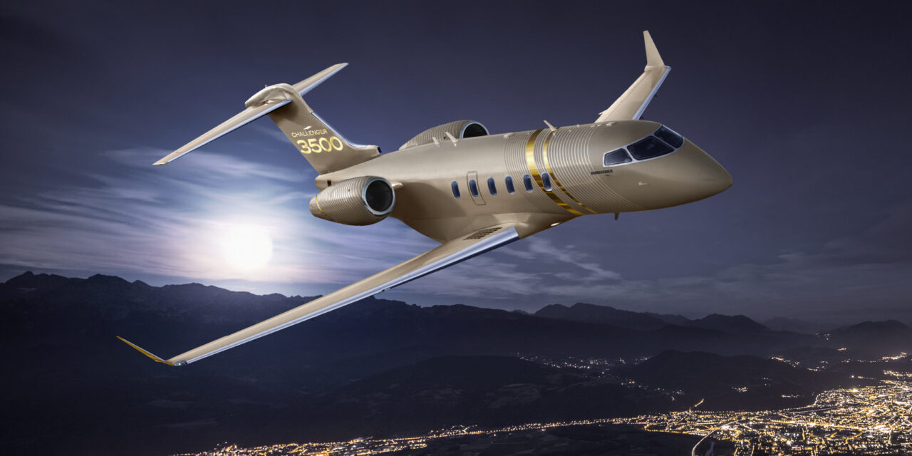 Bombardier Unveils the Challenger 3500