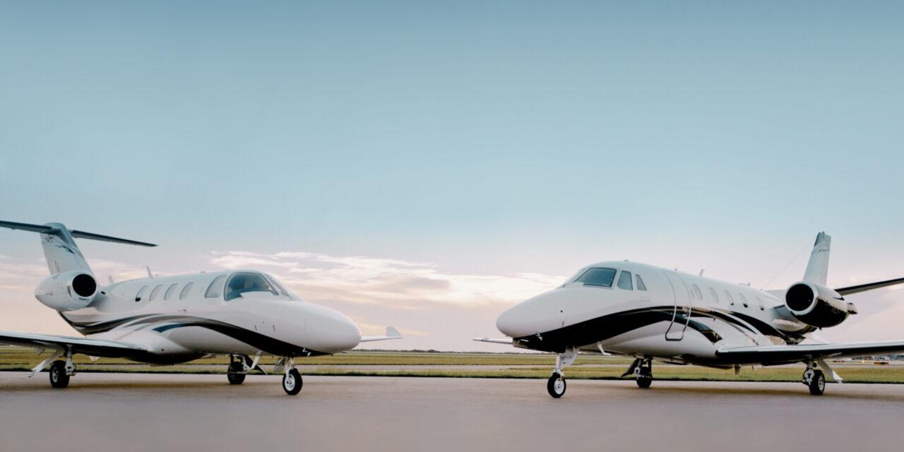 TEXTRON AVIATION LAUNCH new Cessna Citation M2 Gen2 and Citation XLS Gen2 business jets