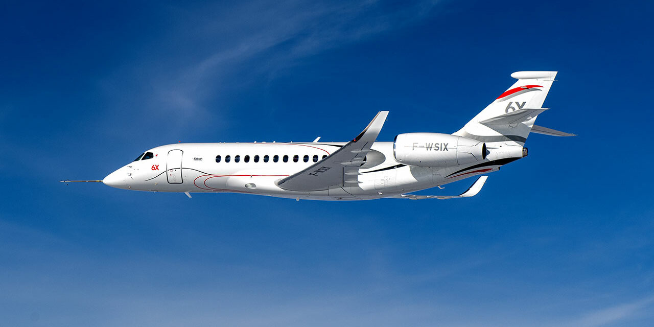 Falcon 6X Proceeding Smoothly Through Flight Test Campaign, Aircraft No. 4 to Fly Shortly
