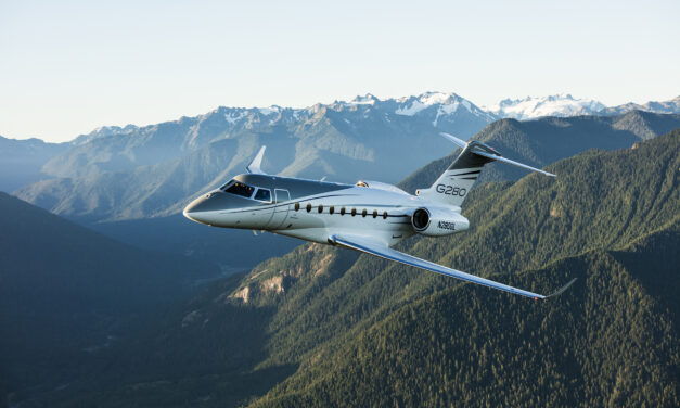 Gulfstream added several new features and options to its  G280